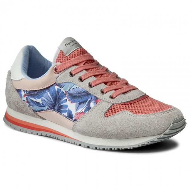 Sneakers PEPE JEANS  Sydney Lace PGS30268  Bright Coral 342