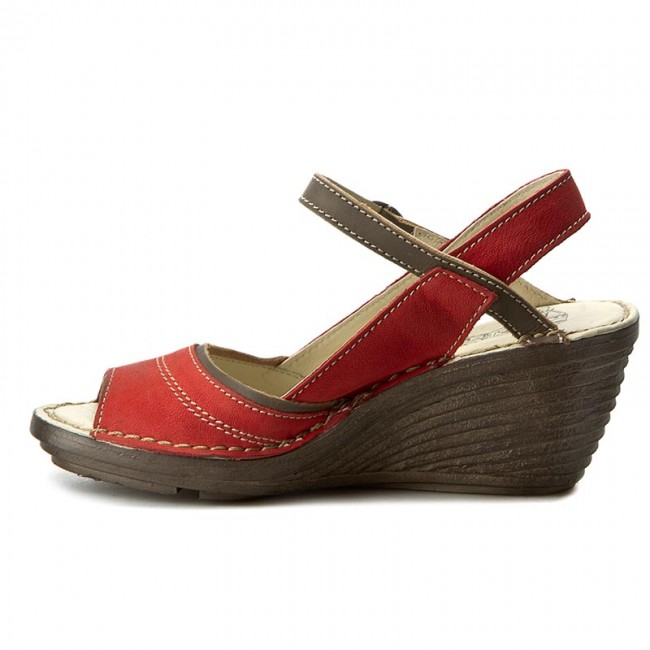 Sandalen FLY  LONDON     FLY                                                Sheafly P300659001 Scarlet/Khaki 54fdc6
