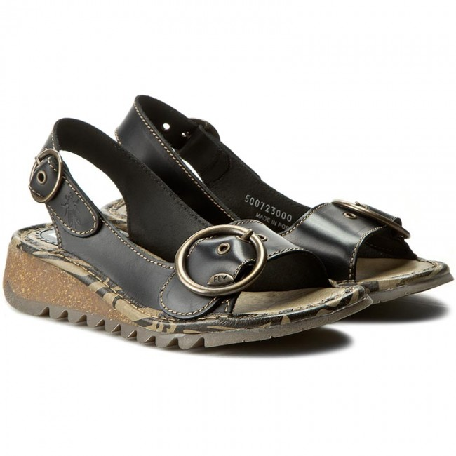 Sandalen FLY LONDON                                                      Tramfly P500723000 schwarz 865e58