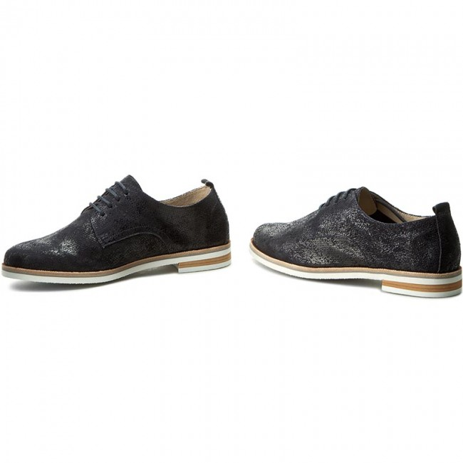 Oxfords CAPRICE                                                      9-23200-28 Ocean Suede 857 b78760