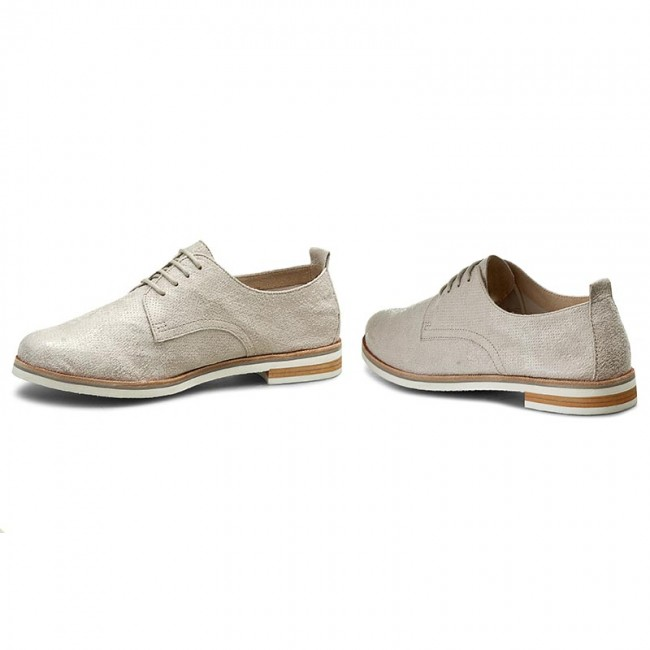 Oxfords CAPRICE                                                      9-23200-28 Lt Grey Suede 201 339494