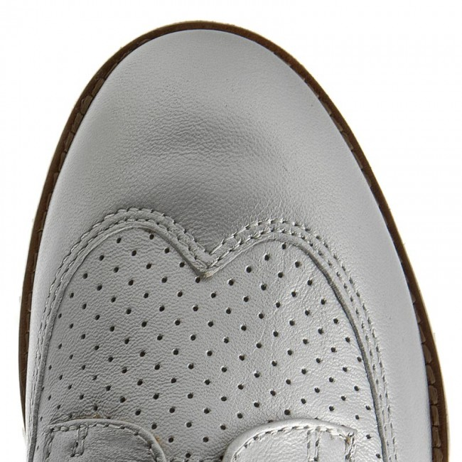 Oxfords GEOX                                                      D Blenda A D720BA 000BV C1007 Silber 168ca8