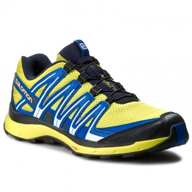 Schuhe SALOMON-Xa Lite 394716 27 V0 Sulphur Spring/Navy Blazer/Nautical Blue