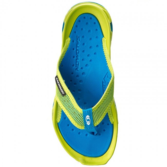 Zehentrenner SALOMON Rx Break 392494 27 M0 Lime Punch.Imperial BlueCloisonne