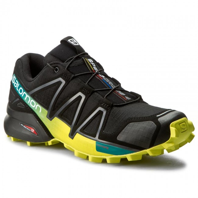 Schuhe SALOMON-Speedcross 4 392398 28 V0 Black/Everglade/Sulphur Spring
