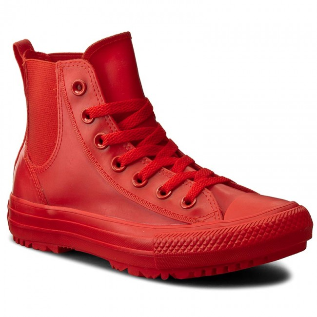 Sportschuhe CONVERSE                                                      Ctas Chelsea Boot Rubber Hi 553265C Signal ROT/Signal ROT e342ef