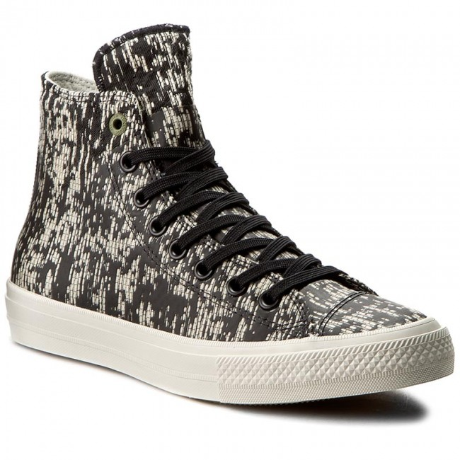 Sportschuhe CONVERSE-Ctas II Hi 153562C Black/Buff/Fatigue Green