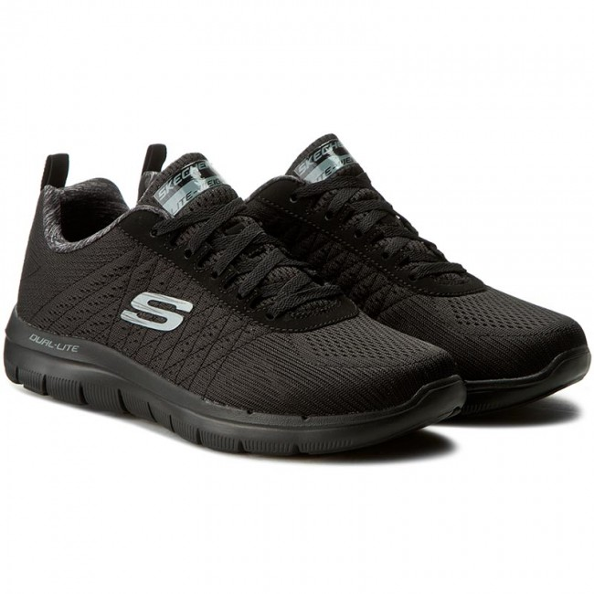 Schuhe SKECHERS The Happs 52185BBK Black