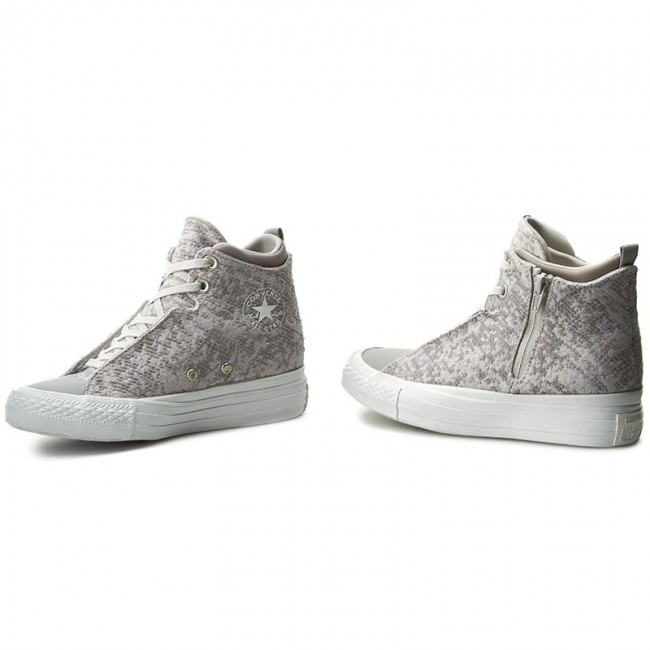 Sportschuhe CONVERSE-Ctas Knit Selene Winter Knit CONVERSE-Ctas Mid 553356C Mouse/Dolphin/White Werbe Schuhe 5cd13f