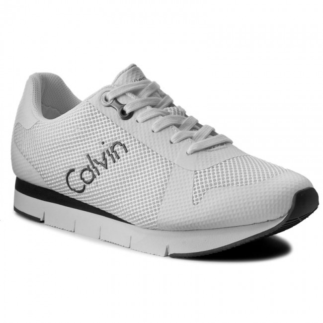 Sneakers CALVIN  KLEIN JEANS-Jacques S1673   CALVIN Weiß ddacf7