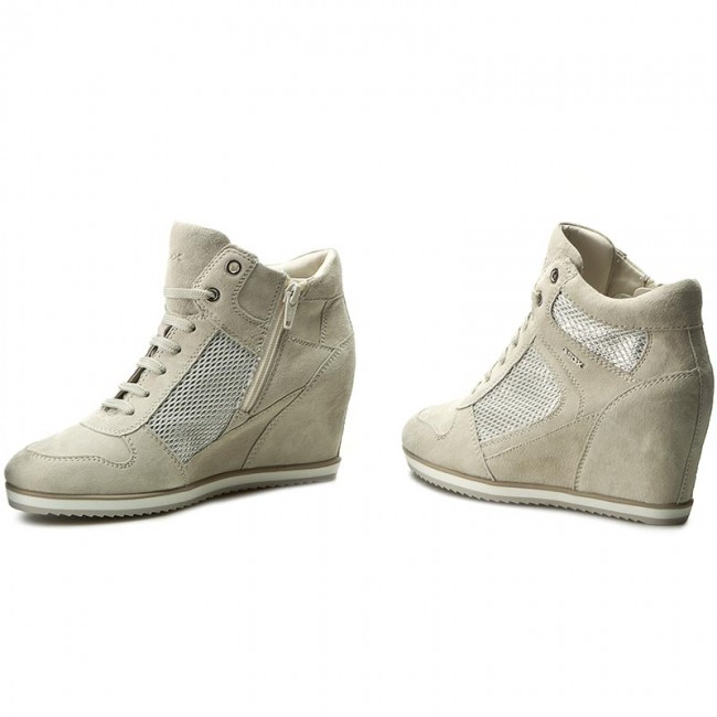 Sneakers  GEOX     Sneakers                                                D Illusion B D7254B 021GN C1008 Ivory 5f7242