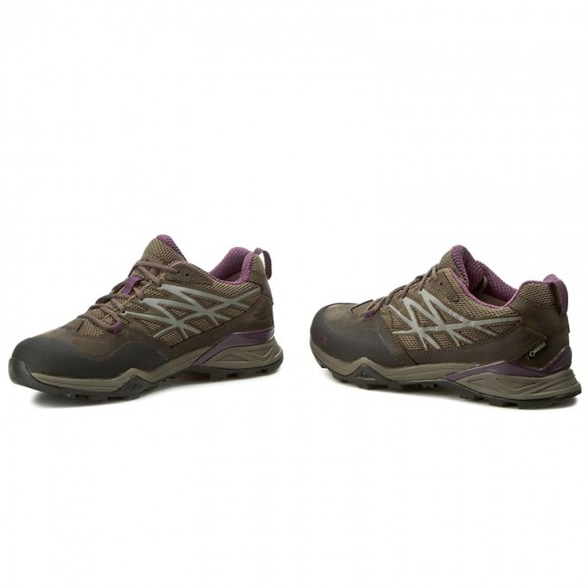 Trekkingschuhe THE NORTH FACE                                                      Hedgehog Hike Gtx GORE-TEX T0CDF4AUX Weimaraner Braun/schwarz Currant Purple 91f38e