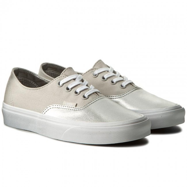 Turnschuhe VANS                                                      Authentic Decon VAN038EPMRK  (Metallic Silver) Canvas 810977