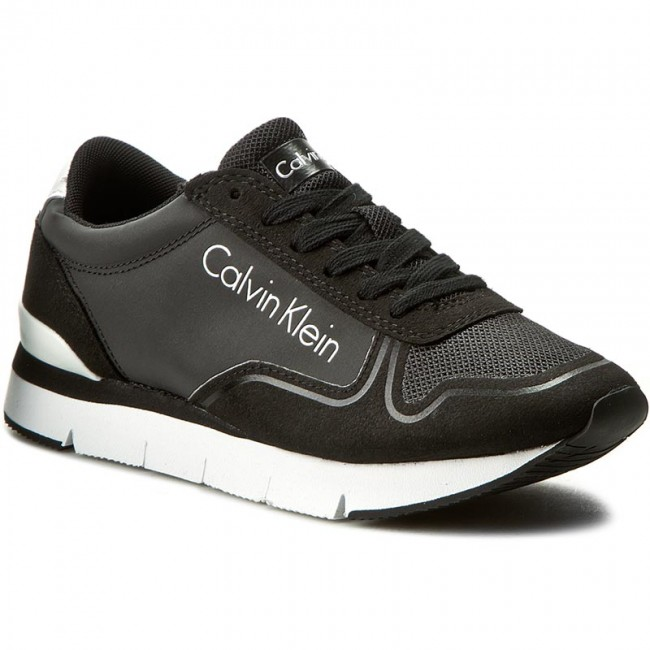 Sneakers Black/Black CALVIN KLEIN JEANS Tori RE9382 Black/Black Sneakers a5e2d5