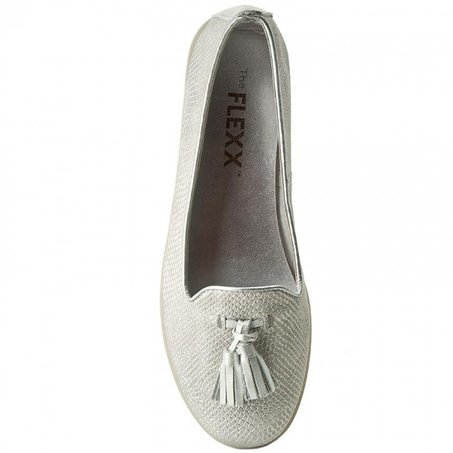 Lords Schuhe  THE FLEXX    Schuhe                                                 Miss Take A103/27 Weiß/Silver 16fa45