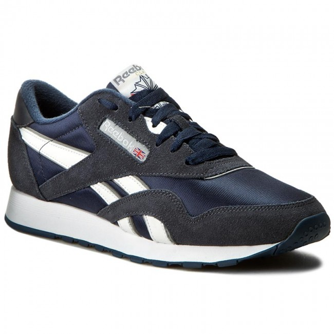Schuhe Reebok-Cl Nylon 39749 Team Navy/Platinum