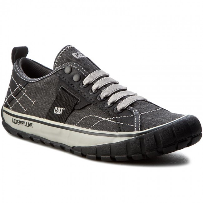 Halbschuhe CATERPILLAR-Neder Canvas P713030  Black