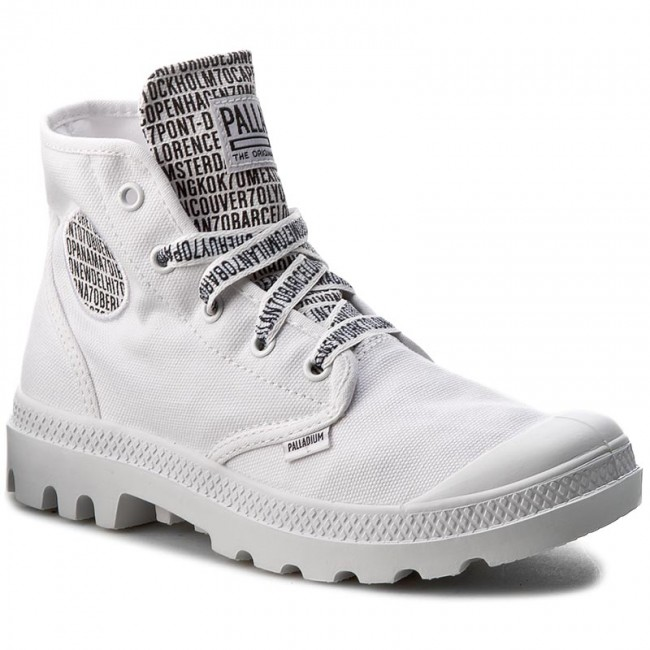 Trapperschuhe PALLADIUM-Pampa Hi 72352-142-M 70th Anniversary White
