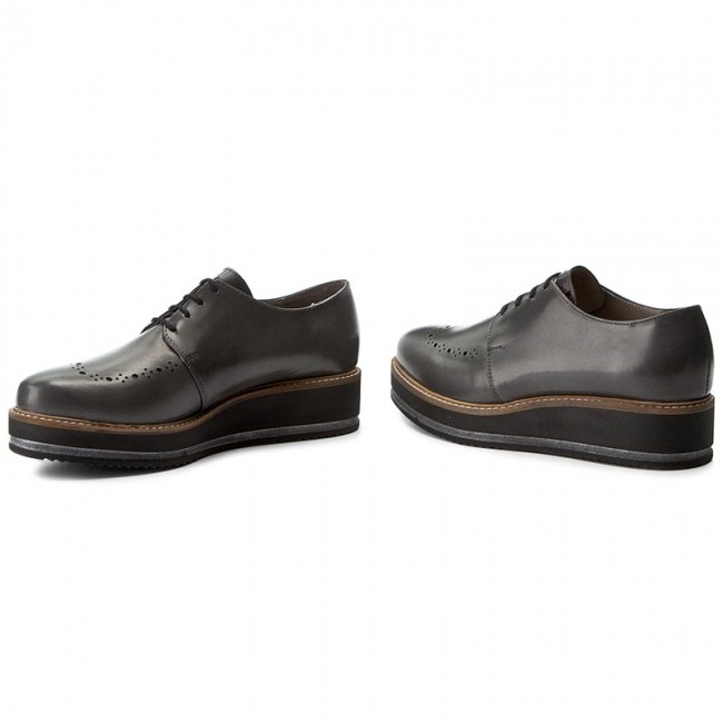 Oxfords WOJAS                                                      7475-50 Popiel 4633df