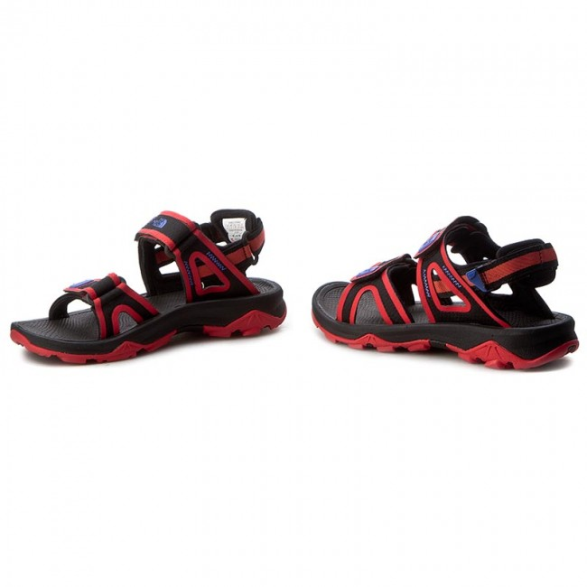 Sandalen THE NORTH  FACE     NORTH                                                Hedgehog Sandale II T0CXS5THS Tnf schwarz/Cayenne ROT 35eba6
