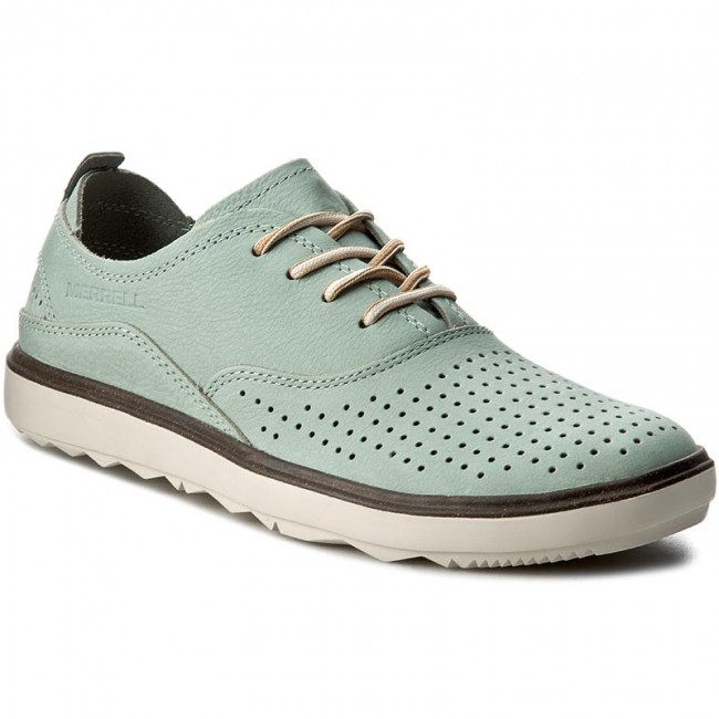 Halbschuhe MERRELL                                                    Around Town Lace Air J03698 Blue Surf
