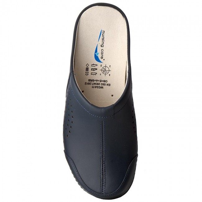 Pantoletten NURSING CARE                                                      Veneza WG3A03 Dark Blue 0ace44