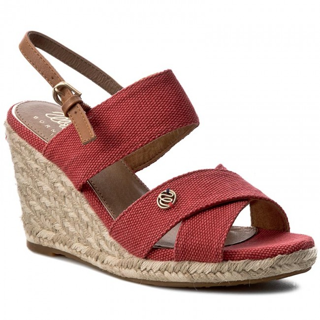 Espadrilles WRANGLER Brava Cross WL171613 Red 87