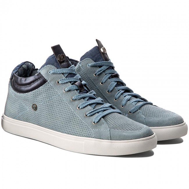 Sneakers WRANGLER                                                      Ivy Punch Mid WF07802SP  Blau Jeans 384 ebe29e