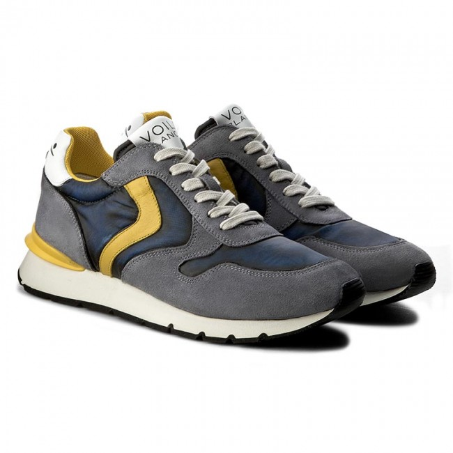 Sneakers  VOILE BLANCHE    Sneakers                                                 Liam Race 0012011204.01.9101 Denim/Giallo a413a6