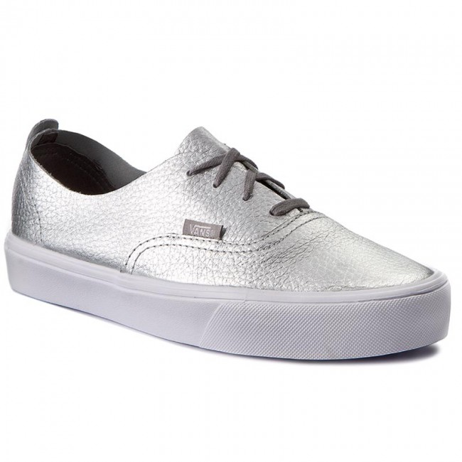 vans authentic silber