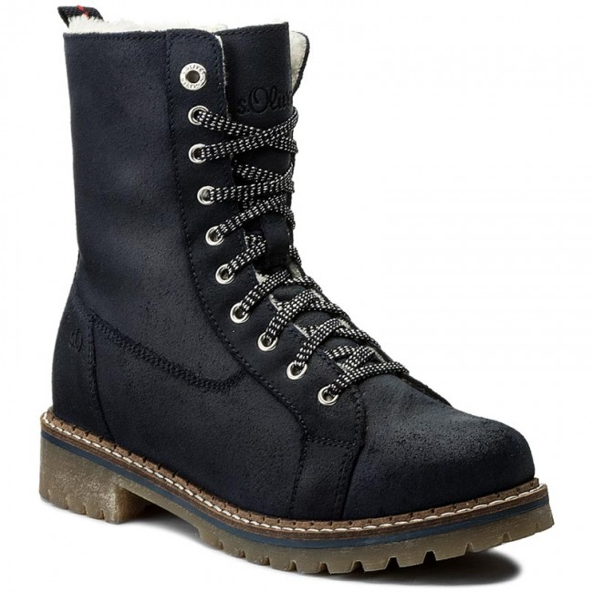 Trapperschuhe S.OLIVER 5-26214-29 Night Blue 853