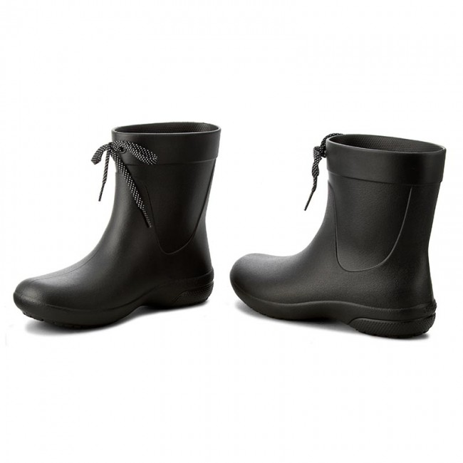 Gummistiefel CROCS                                                      Freesail Shorty Rainboot 203851 schwarz e4e034