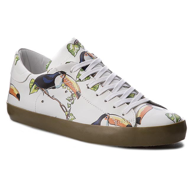 Sneakers PHILIPPE MODEL-Classic CLLU BV09 Birds White Tucan G