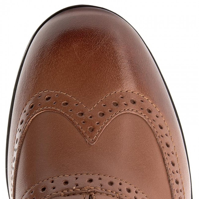 Damenschuhe Halbschuhe Oxfords Oxfords CLARKS - Hamble Oak 203506744 Dark Dark Dark Tan Leather 70b850