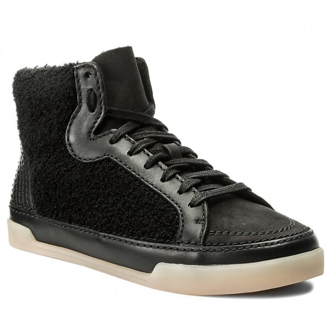 Sneakers CLARKS                                                    Hidi Haze 261285524 Black Combi Leather