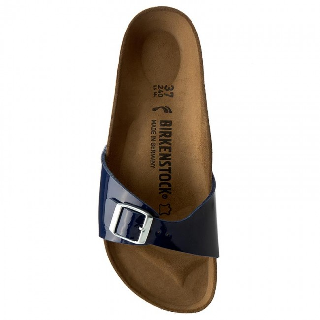 Pantoletten BIRKENSTOCK                                                      Madrid 1005312 Dress Blue 02848d