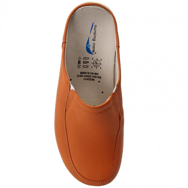 Pantoletten NURSING CARE                                                      Paris WG405 Salmon/Orange 253da0