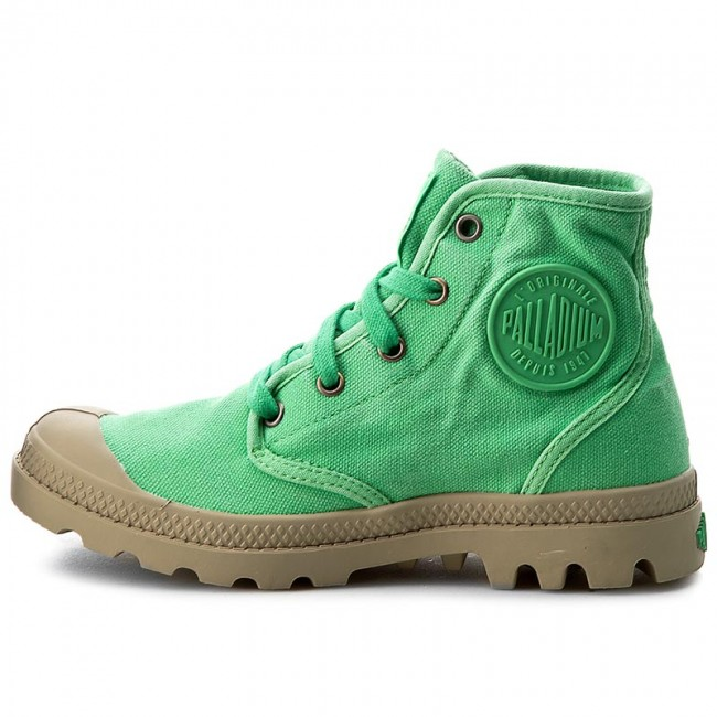 Trapperschuhe PALLADIUM                                                      Pampa Hi 92352-341-M Irish Grün/Putty b92a88
