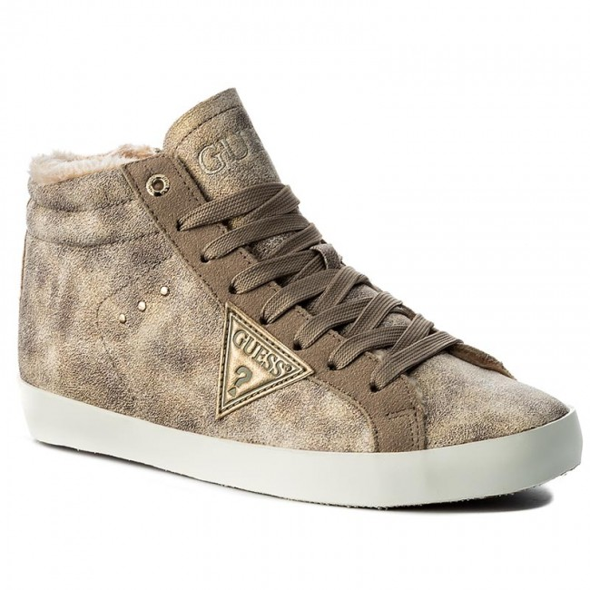 Sneakers GUESS-Holly FLHLL3 FLHLL3 FLHLL3 ESU12 BEIGE Werbe Schuhe b3e7a2