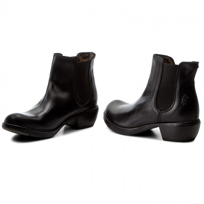 Stiefeletten FLY LONDON       LONDON                                               Make P142458018 schwarz 26f23c