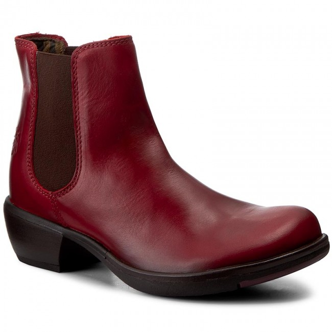 Stiefeletten FLY LONDON Make P142458024 Red