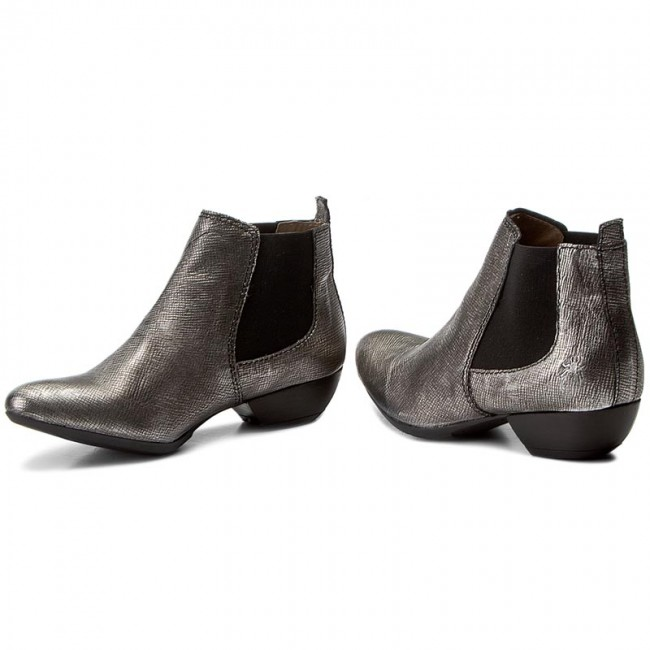 Stiefeletten FLY LONDON                                                    Sly P143211015 Ant.Silver