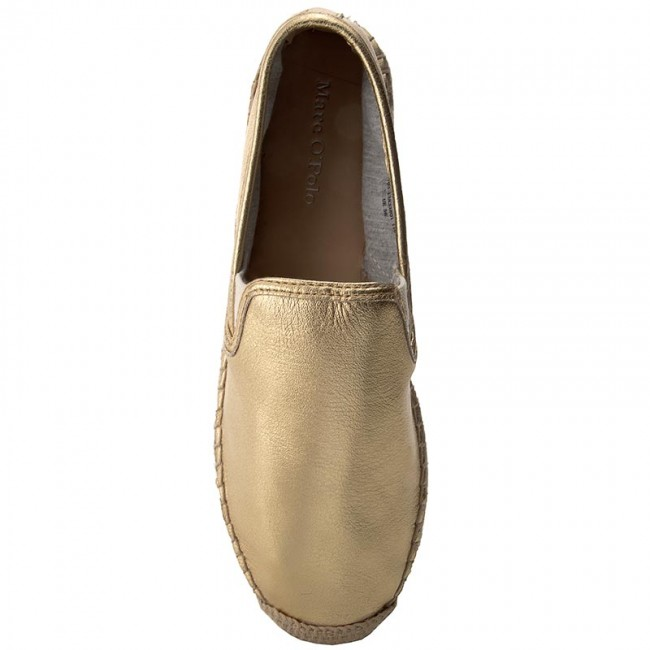 Espadrilles MARC O'POLO                                                      703 13833801 110 Gold 171 927128