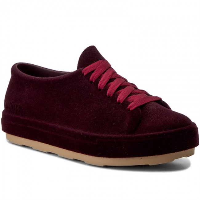 Halbschuhe MELISSA  Be Flocked Ad 32319 Burgundy Flocked 51586