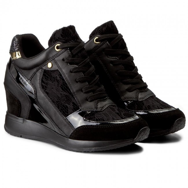 Sneakers GEOX                                                      D Nydame A D540QA 0DS85 C9999 Black f9a262