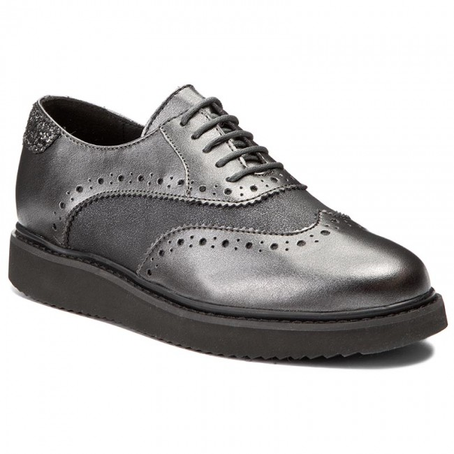 Oxfords GEOX                                                    D Thymar B D744BB 0AJHS C9278 Dk Grey/Anthracite