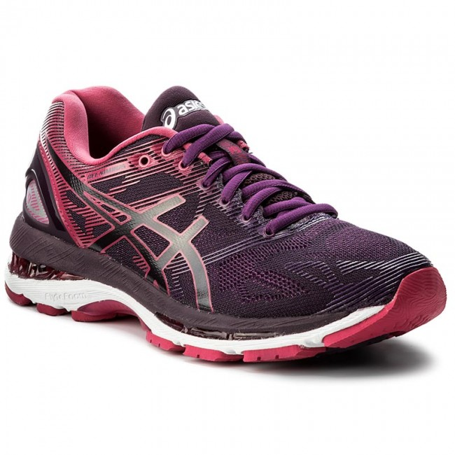 33bc395a21683b Schuhe ASICS - Gel-Nimbus 19 T750N Black Cosmo Pink Winter Bloom 9020