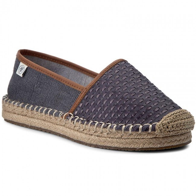 Espadrilles MARC O'POLO 703 13963801 108 Washed Blau 851