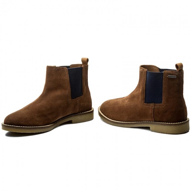 5626bc3ed32472 Stiefeletten PEPE JEANS - Roy Chelsea Boy PBS50069 Brown 878 ...