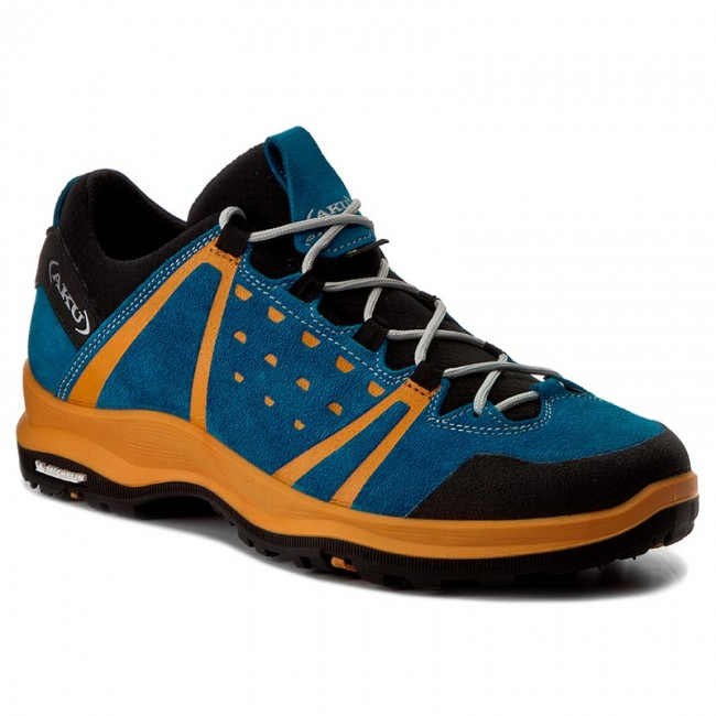 Trekkingschuhe AKU-Pulsar Low Gtx GORE-TEX 740 Turquoise/Orange 454